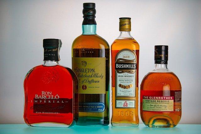 4本のウイスキー